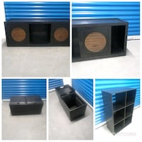 Entertainment Console, Leather Chest & Six Cubical Hyattsville, 20781