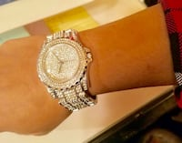Order in time for christmas!  gold or silver stainless steel rhinestone quartz watch Pinehurst, 28374