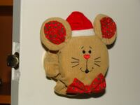 NEW Christmas Mouse Door Handle Cover Decorations Calgary