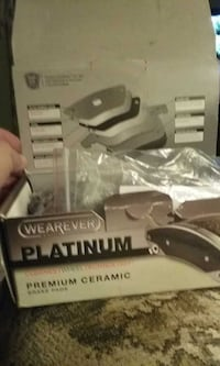 Wearever brake  pad set with box