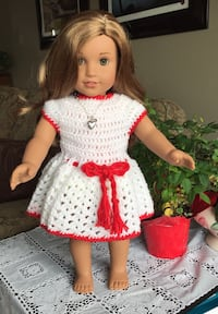18 inch doll clothes....$10 each...dolls not for sale