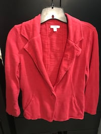 red single button blazer Germantown, 20876