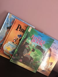 New set of hardcover large Disney books Calgary, T3K 6J7
