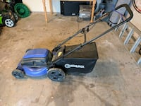 Kobalt electric lawnmower