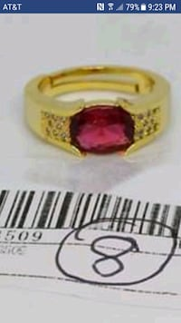 Garnet Stone ring size 8 Mobile, 36693