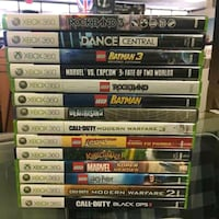 assorted Xbox 360 game cases New York