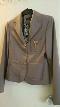 women's gray blazer Vaughan, L4H 2L3