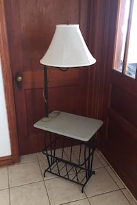 Lamp/Side table combo Frederick, 21701