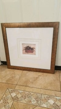 24x24 gold framed wall art  Henderson, 89014