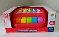 New - Kids 2 in 1 Piano & Xylophone