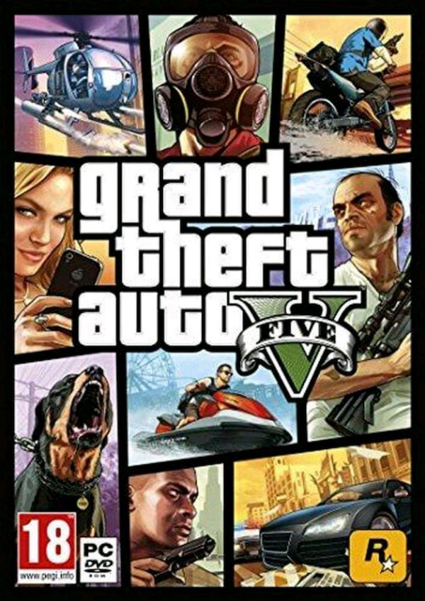 Grand Theft Auto V 5 (GTA 5) PC ROCKSTAR Code