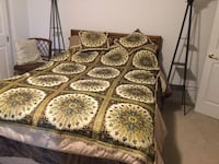 Gold embroidered bedspread/wall hanging Hagerstown, 21742