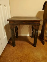 New solid wood side table Moore, 73160