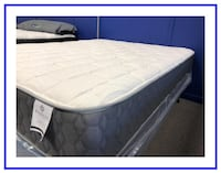 Mattress and Box Foundation- Queen Size New Worcester