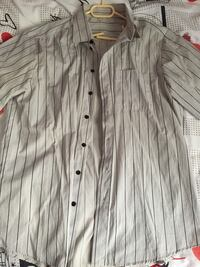 graues Button-Up-Shirt Bonn, 53175
