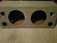 brown and black subwoofer enclosure Richmond, 23237