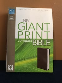 NIV Giant Print Bible New