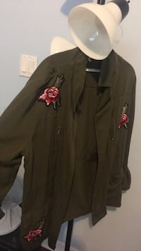 Green Rose Long Jacket LaGrange, 30240