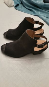Faux suede Bootie/Shoe/made by Portland