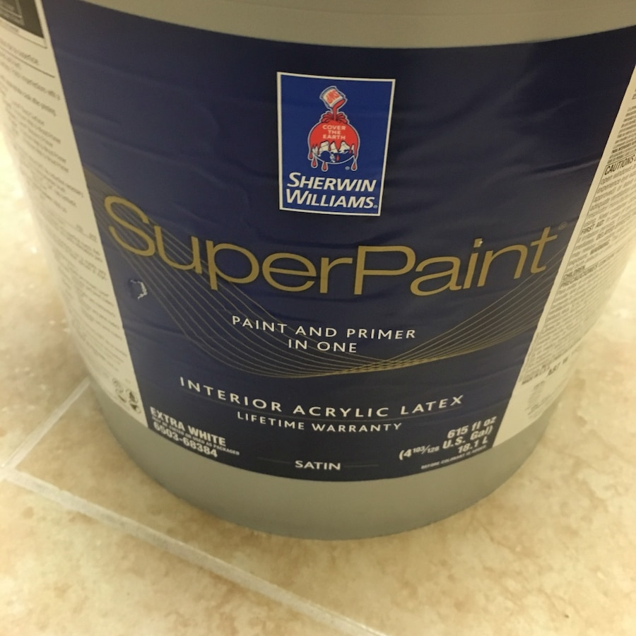 Delightful Used Sherwin Williams Superpaint Interior Acrylic Latex In Cape Canaveral