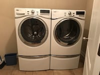 Whirlpool washer and dryer with storage drawer ジャクソンビル, 32222