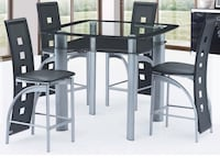 black wooden dining table set Washington, 20018