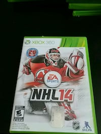 Xbox 360 NHL 17 game case