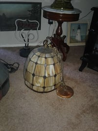 brown and white table lamp Citrus Heights, 95621