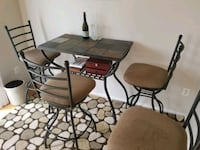 Slate top table with 4 chairs Frederick, 21702