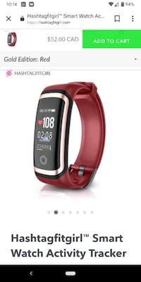 Hashtag fitgirl smartwatch Vancouver, V6B 3G6
