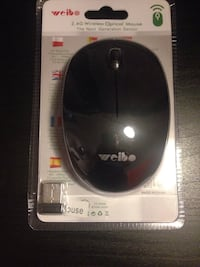 mouse wireless nero Cibo