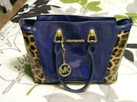 blue and black leather tote bag Springfield, 62702