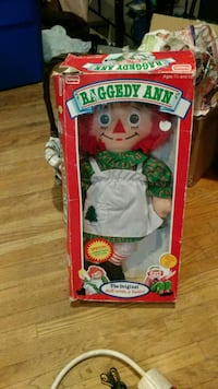 Raggedy Ann doll 1988 Washington Township