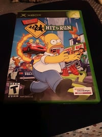 XBOX The Simpsons Hit & Run Video Game (New Condition) Goose Creek