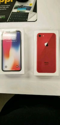 Product Red iPhone 8 and X New Fort Worth, 76108
