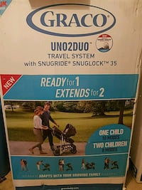 Uno2Duo Travel system with second seat