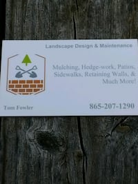 landscaping design and tree service  Knoxville