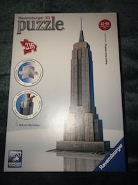 RAVENSBURGER 3D PUZZLE EMPIRE STATE BUILDING NEW YORK  Stone Mountain, 30087
