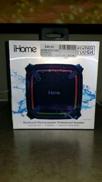 IHOME BLUETOOTH RECHARGABLE WATERPROOF SPEAKER @ BUY AND SELL KINGS Ajax, L1S 3V4