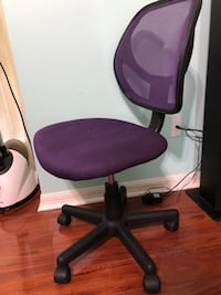 purple and black rolling chair Port Saint Lucie, 34987
