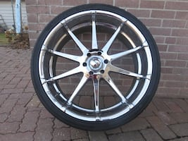 Selling 4 Tires With Rims 6 Bolt 26
