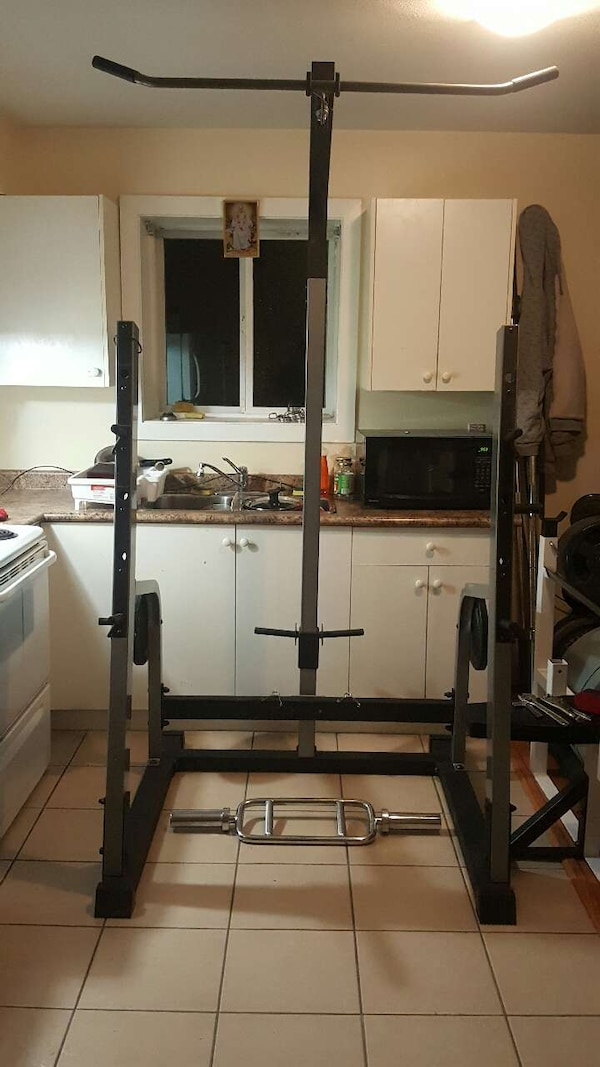 Used Nautilus Squat Rack Lat Pulldown Benchpress For Sale In