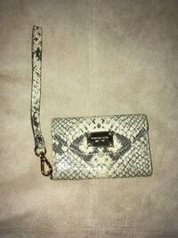 Michael Kors wristlet in snakeskin for iPhone 4.7x3 inches Moody, 35094