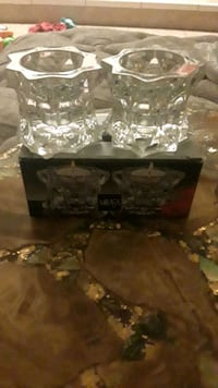 Mikasa sparkling star candle holders Las Vegas, 89108