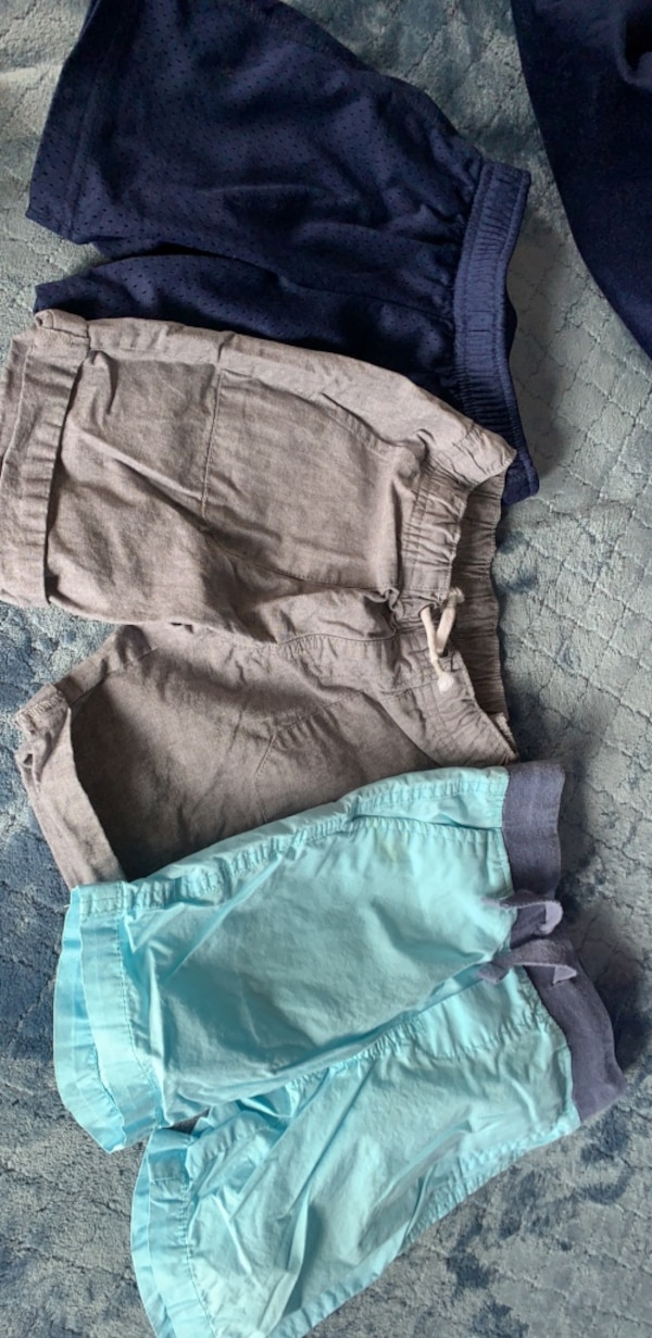 3 pairs of shorts for boys!