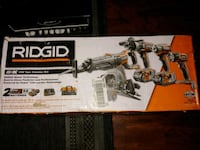 Brand New 5 piece Ridgid hammer drill set.  Santa Barbara, 93101