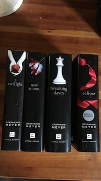 Twilight Saga book collection Dane, 53529