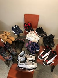 assorted pairs of shoes and sandals Tampa, 33604
