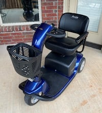 Pride Victory Mobility Scooter.  The Village, 73120