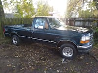 1995 ford f150 runs,drives,as is 91 km